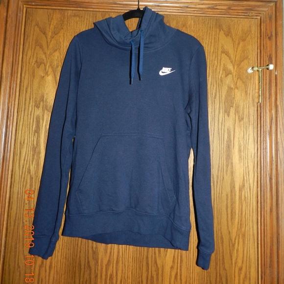 Nike Hoodie Dark Blue